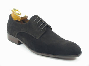 Carrucci by Maurice Suede Lace-Up Oxford Brown