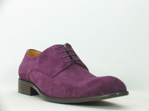 Carrucci by Maurice Suede Lace-Up Oxford Purple