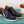 Load image into Gallery viewer, Carrucci by Maurice Burnished Calfskin Lace-Up Oxford Blue
