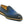 Load image into Gallery viewer, Calfskin Slip-On Venetian Loafer Ocean/Blue