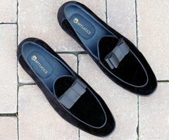 Velvet Formal Loafer Black