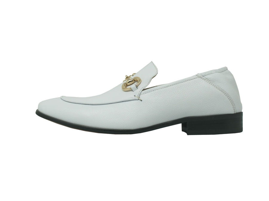 Calfskin Slip-On Loafer White