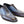 Load image into Gallery viewer, Corrente Burnished Calfskin Lace-Up Oxford Blue