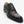 Load image into Gallery viewer, Burnished Alligator Lace-Up Oxford Black