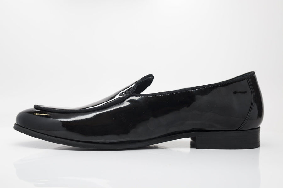Patent Leather Formal Loafer Black