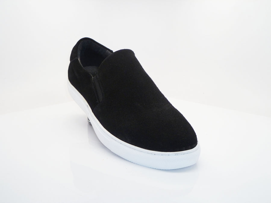 Carrucci by Maurice Suede Slip-On Sneaker Black