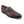 Load image into Gallery viewer, Carrucci Ostrich Embossed Calfskin Loafer Burgundy