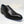Load image into Gallery viewer, Burnished Calfskin Lace-Up Oxford Black