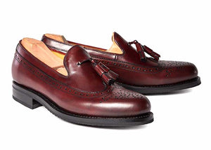 Calfskin Slip-On Loafer Burgundy
