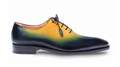Addy Lace-Up Oxford Blue/Multi
