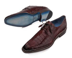 Aegis Alligator Lace-Up Derby Sport
