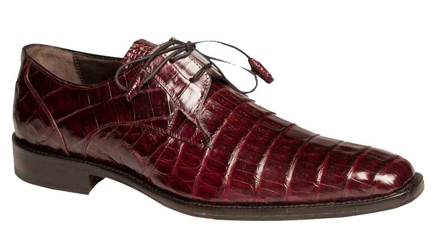 Anderson Lace-Up Oxford Burgundy
