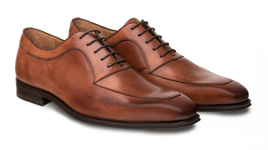 Mezlan Andres Lace-Up Oxford Cognac