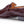 Load image into Gallery viewer, Bixby Crocodile Loafer Brown