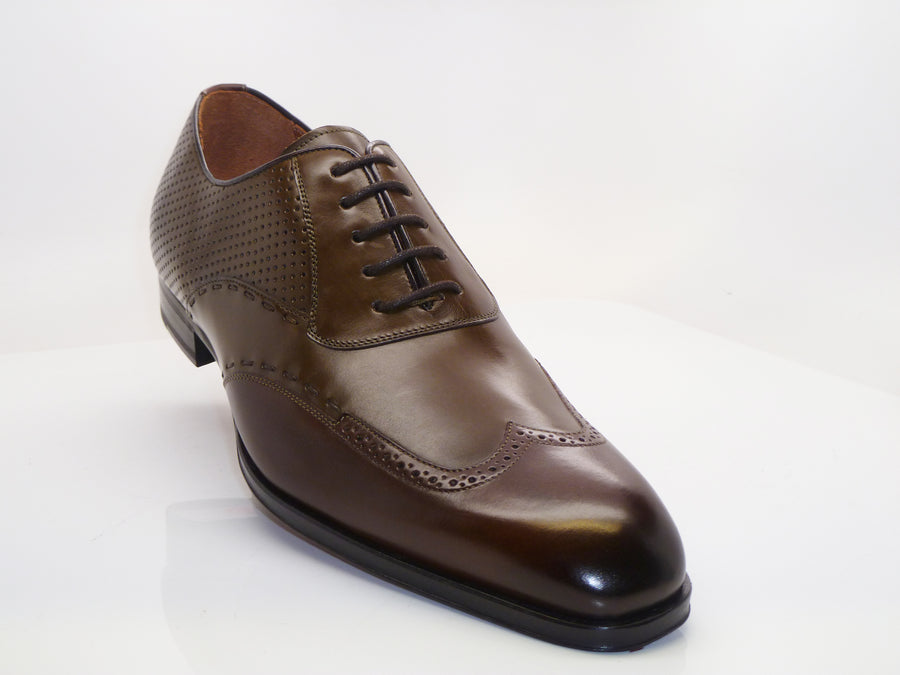 Mezlan Brandon Lace-Up Oxford Olive/Brown
