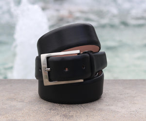 Corrente Calfskin Belt Black