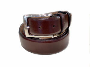 Corrente Calfskin Belt Brown