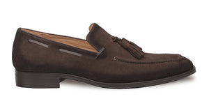 Mezlan Campania Tasseled Loafer Brown