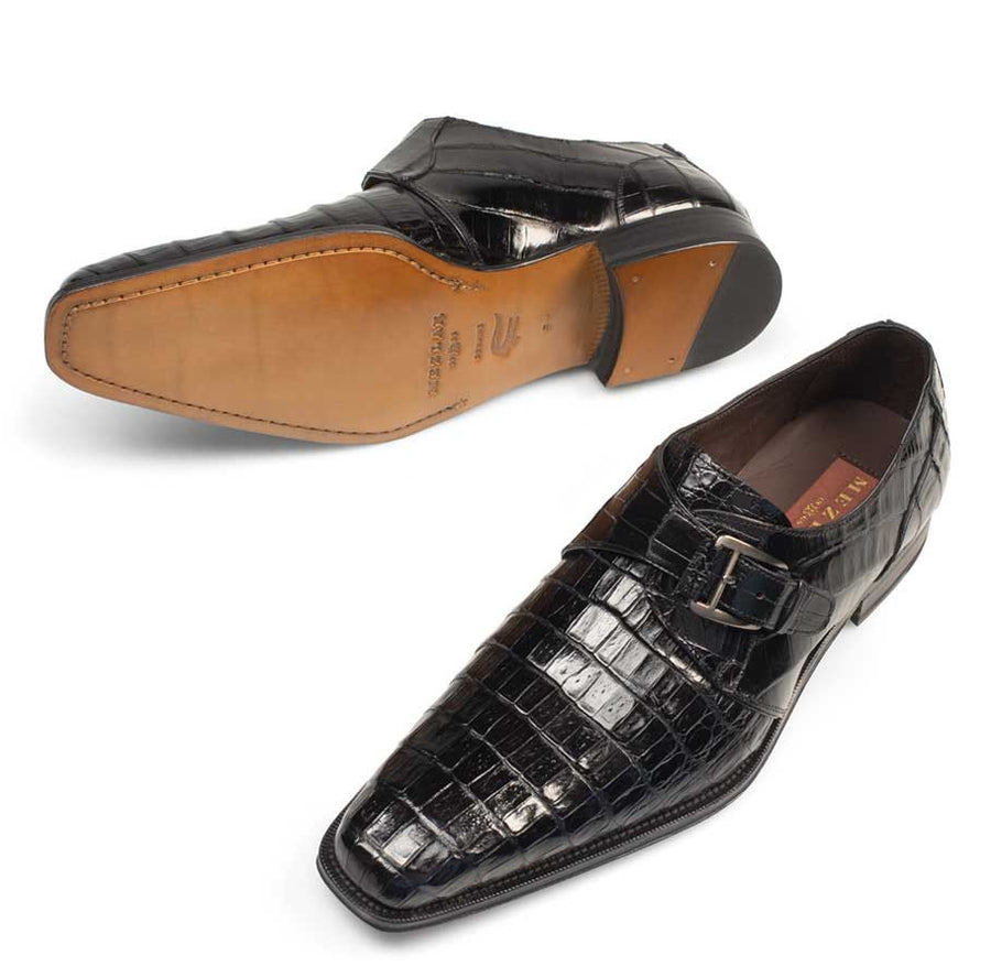 Dallas Monkstrap Shoe Black