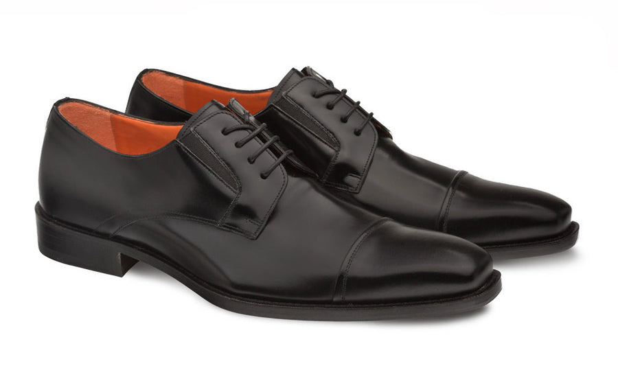 Mezlan Emilio Lace-Up Oxford Black