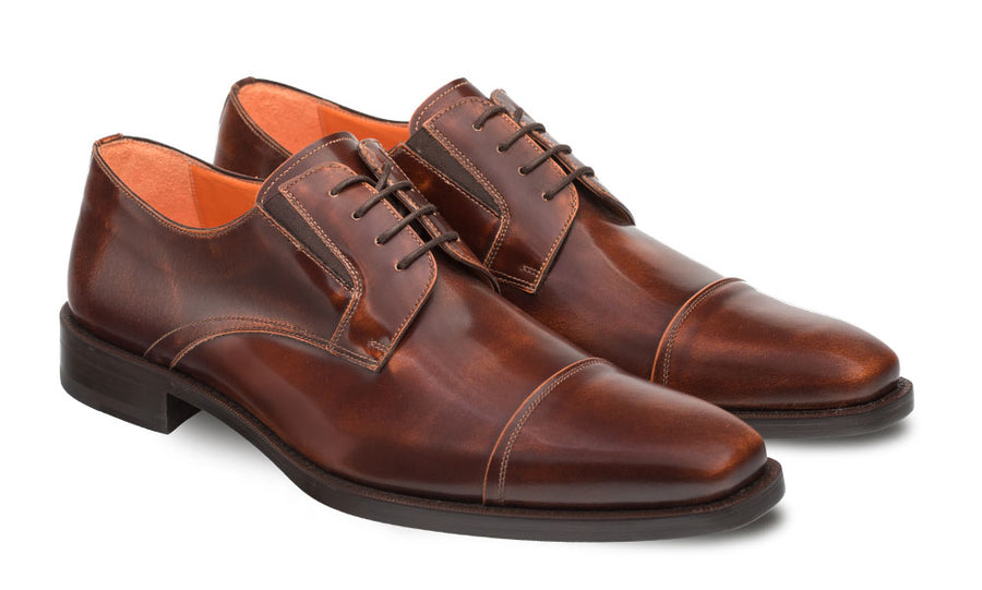 Mezlan Emilio Lace-Up Oxford Tan