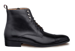Essen Lace-Up Boot Black