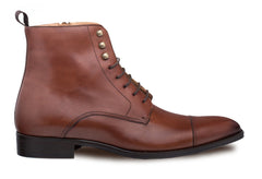 Essen Lace-Up Boot Cognac