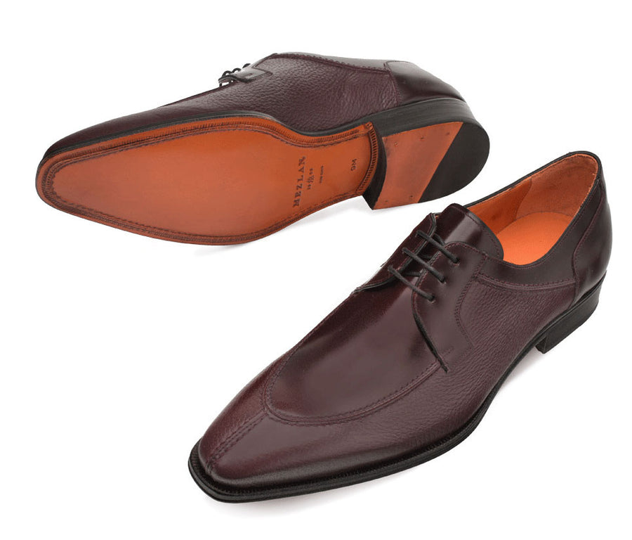 Mezlan Grace Lace-Up Oxford Burgundy