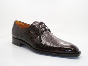 Grillo Alligator Oxford Brown