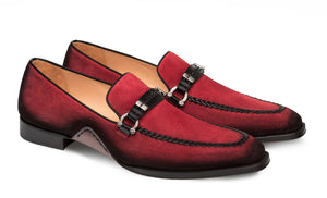 Mezlan Halsey Slip-On Loafer Red