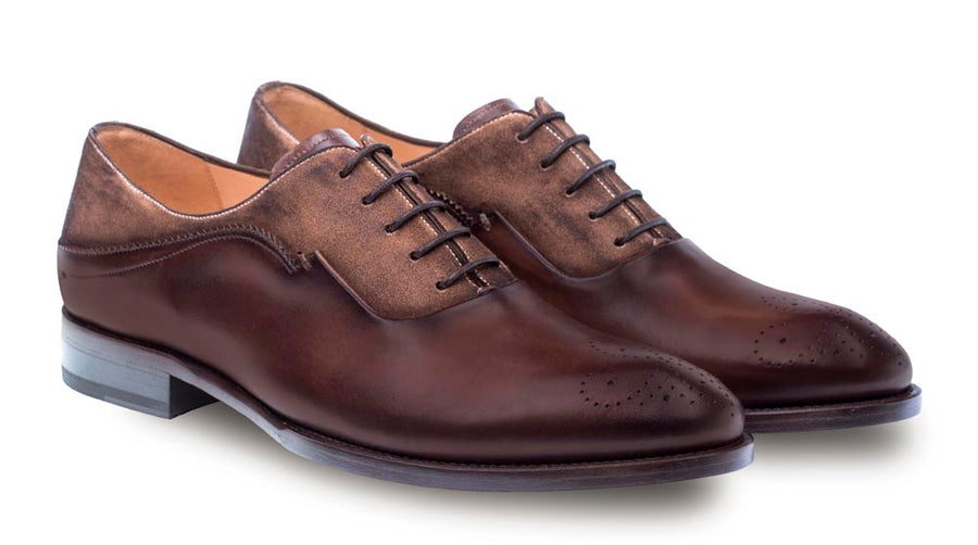 Hanks Lace-Up Oxford Brown/Cognac