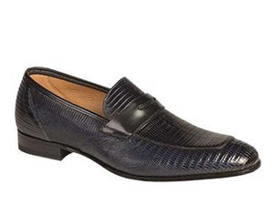 Lipari Lizard Loafer Blue