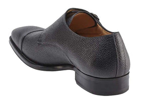 Lubrin Double Monkstrap Shoe Black