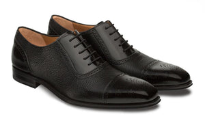 Murino Lace-Up Oxford Black