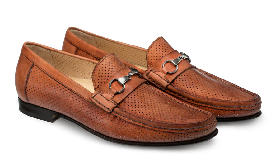 Pani Slip-On Dress Moccasin Cognac