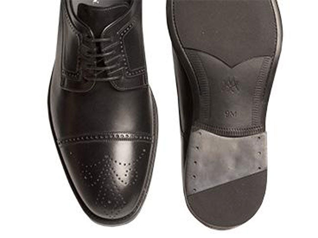 Ponte Lace-Up Oxford Black