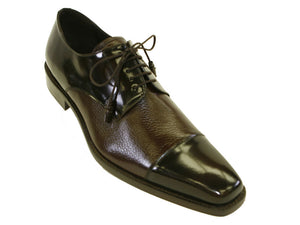 Mezlan Soka Lace-Up Oxford Brown