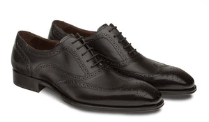 Mezlan Ugalde Lace-Up Oxford Black