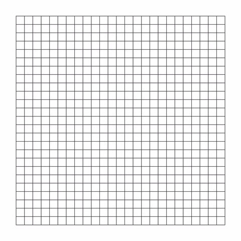 Optical resolution chart, grid (PYSER)