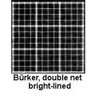 Counting chamber, BOrker double net ruling bright-lined