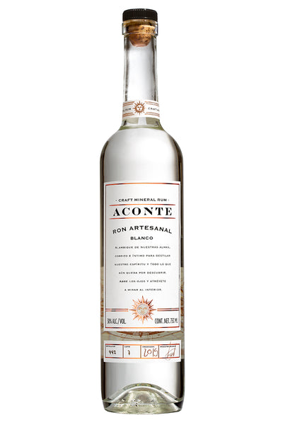 Aconte Ron Artesanal Blanco 750 ml