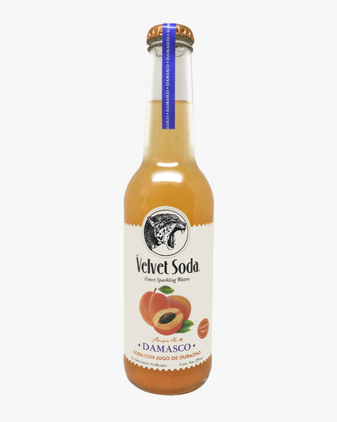Velvet Soda Damasco 275 ml