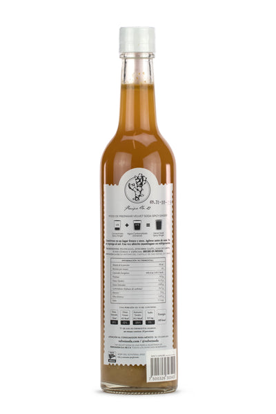 Velvet Soda Spicy Ginger 500 ml