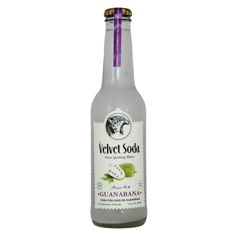 Velvet Soda Guanábana 275 ml