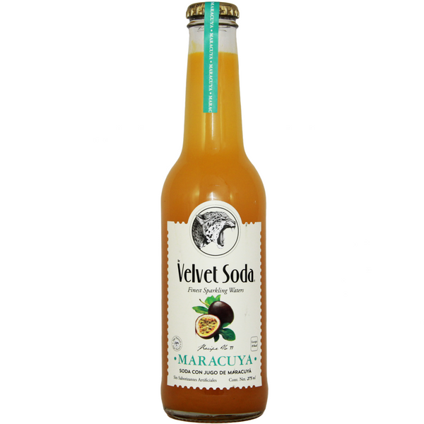 Velvet Soda Maracuyá 275 ml