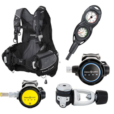 Aqualung Axiom Hardware Package Packages Dive Otago