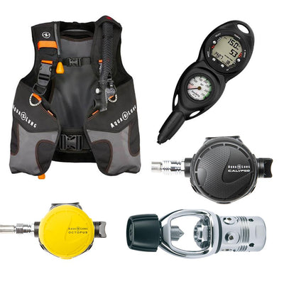 Aqualung Wave Hardware Package Packages Aqualung Suunto Zoop Novo 2 in line Extra-Small
