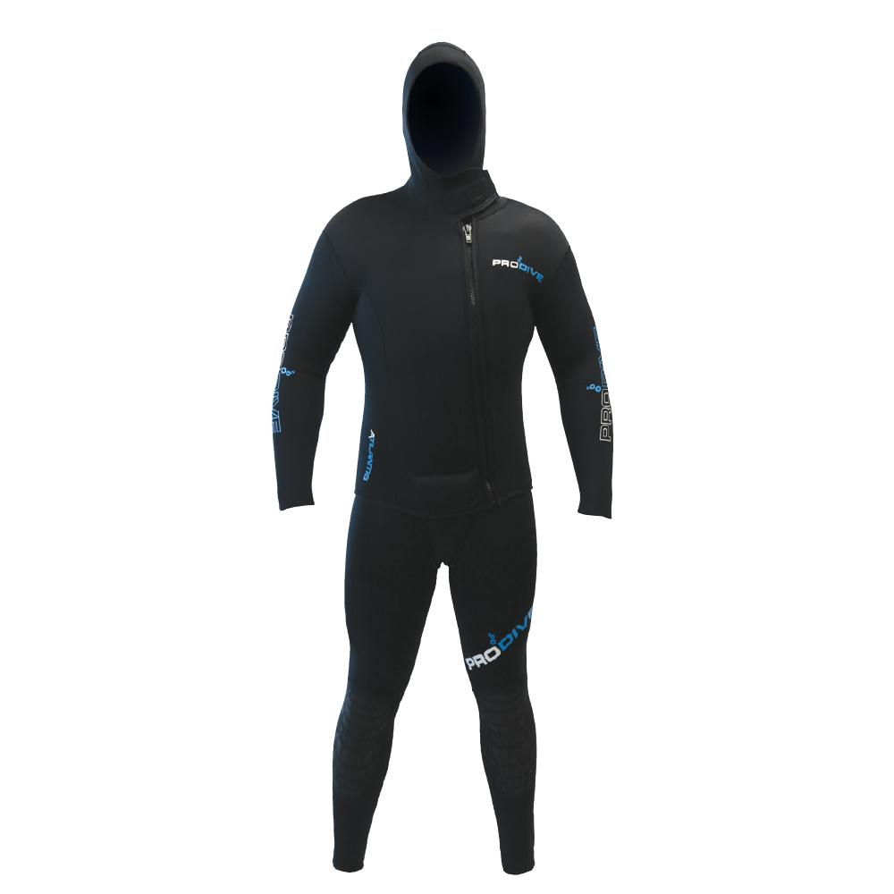 Atlantis Hooded 2 Piece Wetsuit Pro Dive