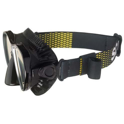 Comfort Strap Mask Scubapro Black/Yellow