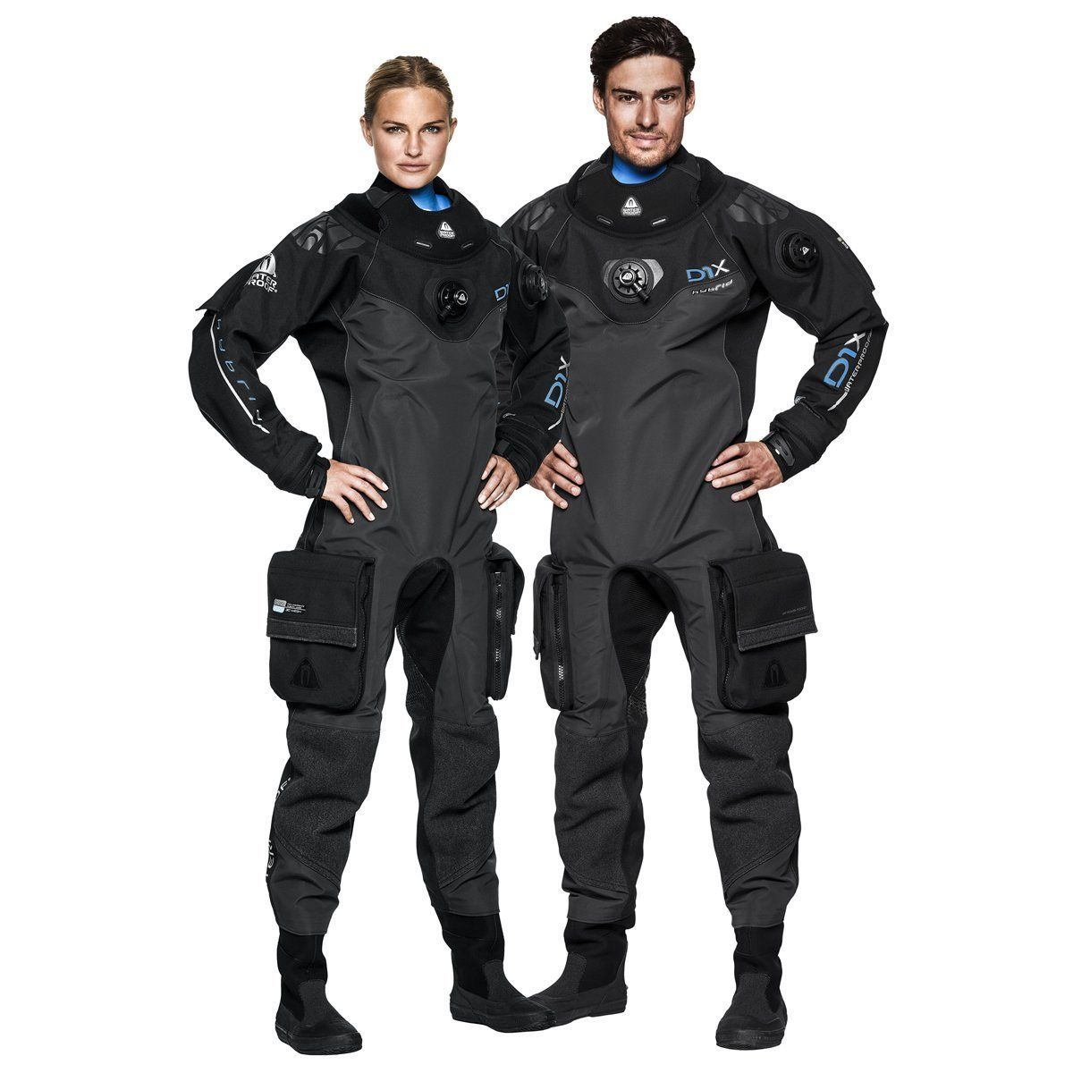D1X Hybrid ISS Womens Drysuit Waterproof